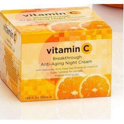 anti aging Spa Cosmetics VItamin C Firming Night Cream