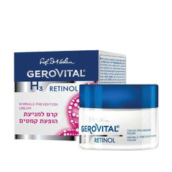 Gerovital - Anti-wrinkle cream - effect on skin layers
