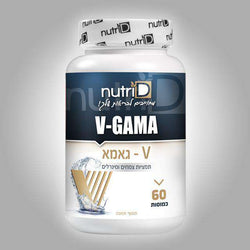 Nutri d - V-Gama - 60 capsules -  for men Helps strengthen erections and increase sexuality Prolonged sexual activity duration Increases sperm count