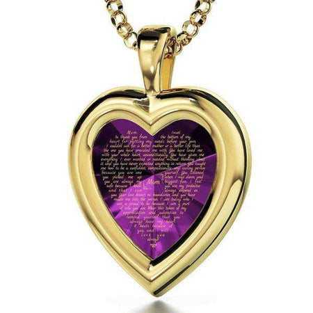 24K Gold Plated Heart Frame Thank You-Israel-Cart