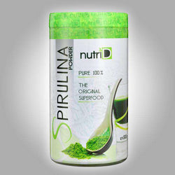 Nutri d - Spirulina powder - 500g - Contains amino acids, essential fatty acids, vitamins and minerals, This product has the G.M.P certificate