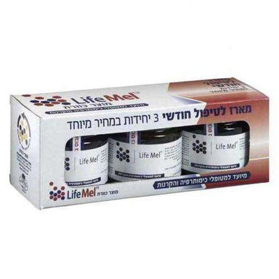 3 x LifeMel Honey Chemo & Radiation Support 120g-Israel-Cart