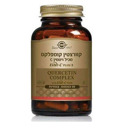 Quercetin Complex (50 capsules) Allergy treatment- Solgar