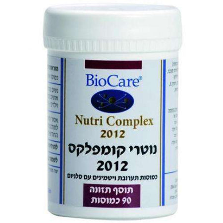 bio care - Nutri Complex -  90 capsules - Prevention of diseases and maintenance of heart health