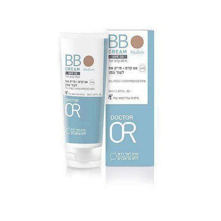 BB SPF30 Oily Skin Moisturizing Cream (50ml) - Dr. Skin-Israel-Cart