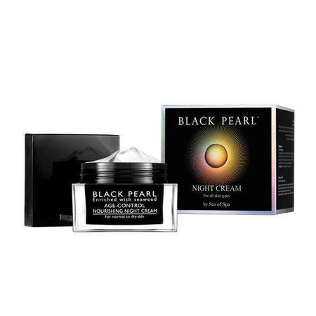 Anti-Wrinkle Night Cream (50ml) - Black Pearl-Israel-Cart