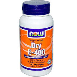 Vitamin E400 (one hundred capsules) - NOW foods Bile stones-Israel-Cart