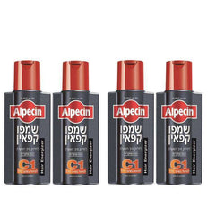 4x Alpsin and caffeine shampoo baldness Problems Laboratorie Israel