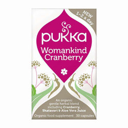 Womankind Cranberry (30 capsules) - Pukka Urinary Tract-Israel-Cart