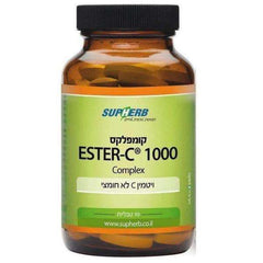 SupHerb - Complesso Ester-C - 1000 mg xNUMX tabs - vegan Kosher