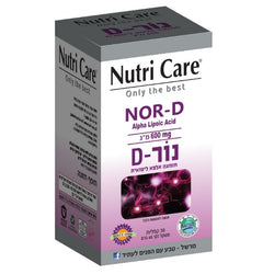 Nutri care - nor d - 30 capsules - Powerful antioxidant