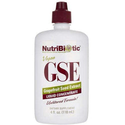 GSE Grapefruit Seed Extract NutriBiotic Not tested on animals.