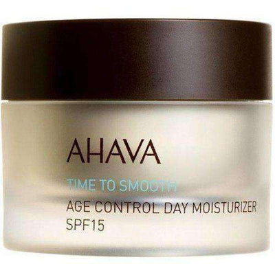 Ahava Age Control Day Moisterizer, Time To Smooth, SPF 15-Israel-Cart
