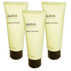 AHAVA Foot Cream - Set of 3 Super Saver Deal-Israel-Cart