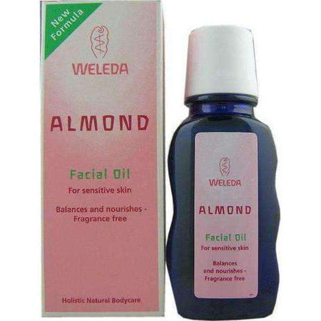 Almond Soothing Facial Oil 50ml - Weleda Not tested on animals-Israel-Cart