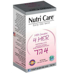 nutri care - 4 her - 60 tablets - for Quality and health of hair