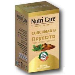 nutri care - Curcumax B - 60 tablets - supplemented with piperin and boswilia