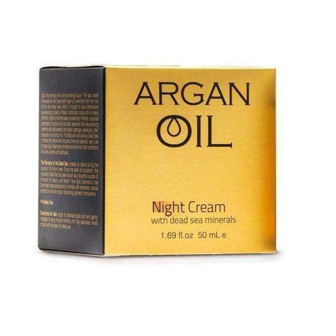 Dead Sea Spa Cosmetics Argan Oil Night Cream minerals-Israel-Cart