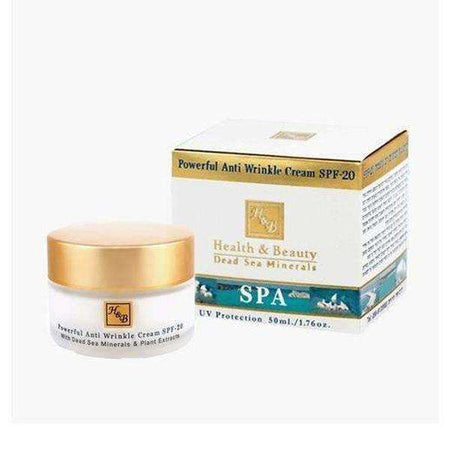 Extra-Strength Dead Sea Mineral Anti-Wrinkle Face Cream SPF 20-Israel-Cart