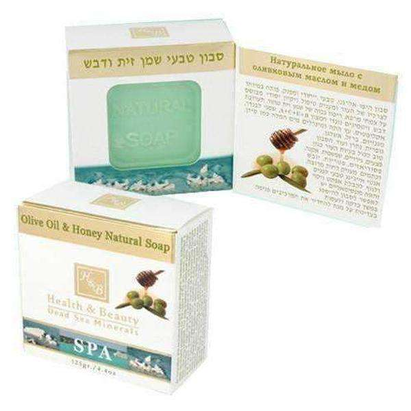 Hypoallergenic Olive Oil & Honey, Dead Sea Soap-Israel-Cart