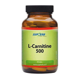 L-Carnitine 500 Supports the Fat Burning Process-Israel-Cart