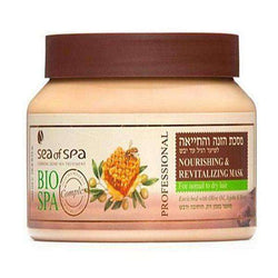Nourishing Mask for Normal Hair with Jojoba Olive Oil, Dead Sea Cosmetics-Israel-Cart