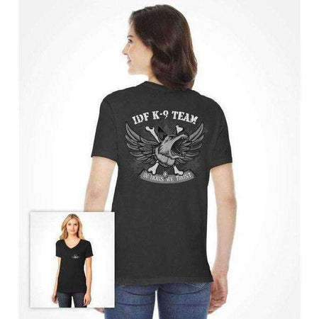 Special Forces Shirt IDF Dog Team K-9 for women-Israel-Cart