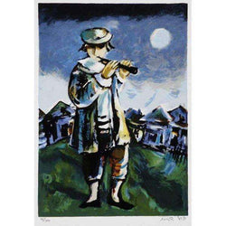 "Yoss`l Bergner ""The Flutist""-Israel-Cart"