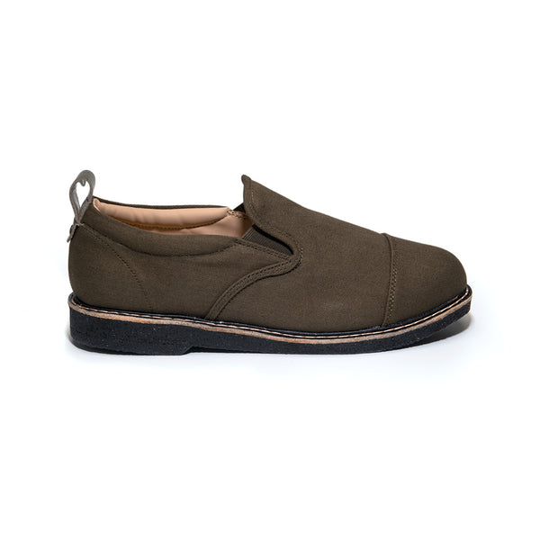 Octavio Slip-On | Olive / Black
