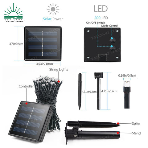 Iro solar lights complete package