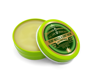 CBD Infused Hemp Muscle & Joint Balm