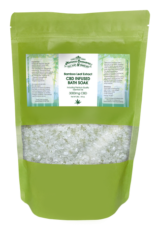 Image of CBD Hemp Bath Salts