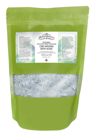 Hemp Infused Bath Salts