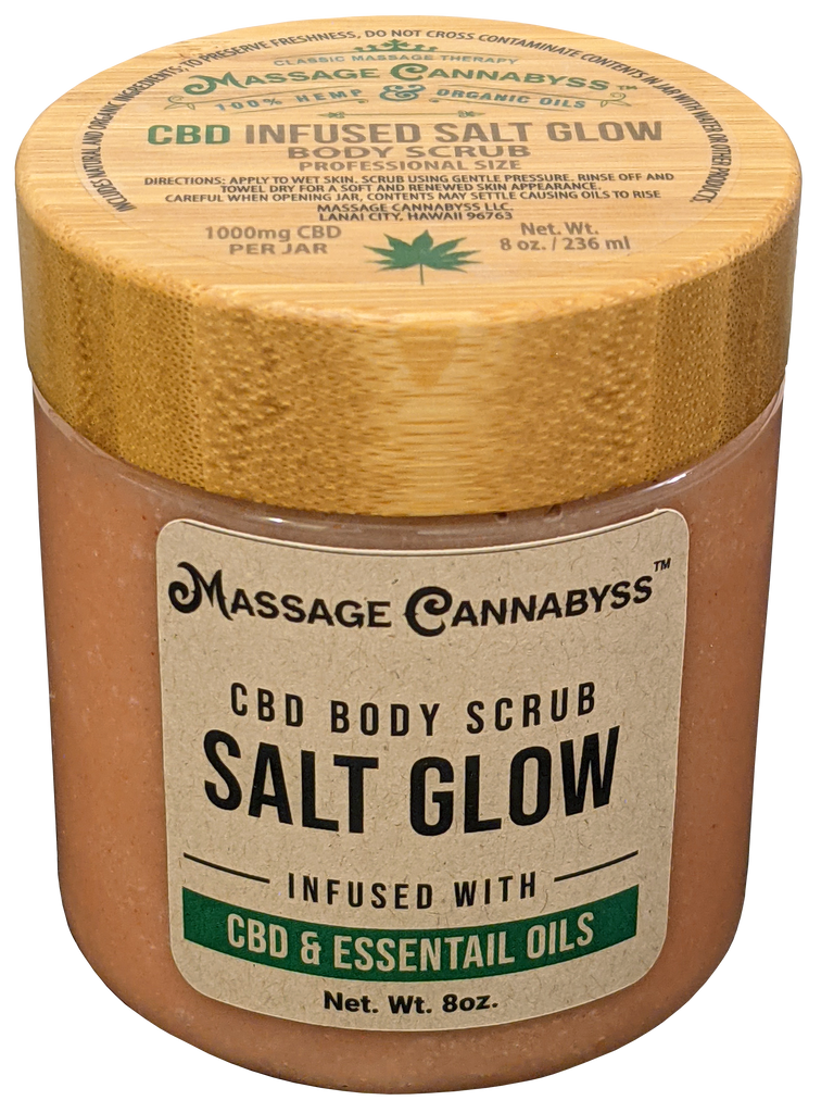 CBD Infused Salt Scrub