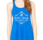 Belle's Book Cafe Racerback Tank