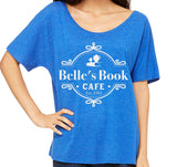Belle's Book Cafe Women's Slouchy
