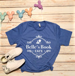 Belle's Book Cafe Unisex Tee