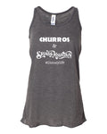 Churros and Splash Mountain Racerback Tank