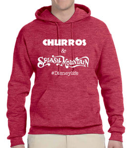 Churros & Splash Mountain Unisex Hoodie