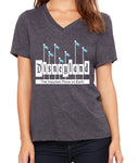 Disneyland Sign  Women's V-Neck