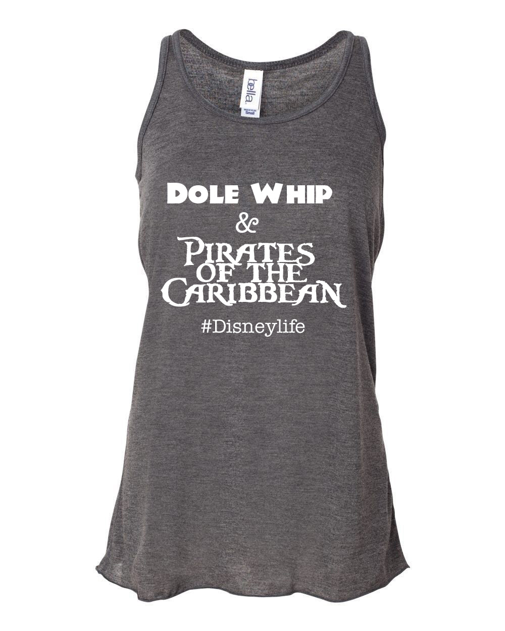 Dole Whip & Pirates of the Caribbean Racerback Tank
