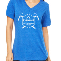 Expedition Everest Yeti Research Team  Women's V-Neck