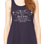 Geppetto's Toy Shoppe Racerback Tank