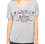 Geppetto's Toy Shoppe Women's Slouchy