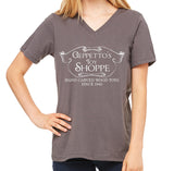 Geppetto's Toy Shoppe Women's V-Neck