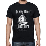 Gracey Manor Ghost Tours Unisex Tee