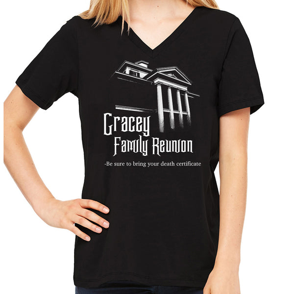 Gracey Family Reunion  Women's V-Neck
