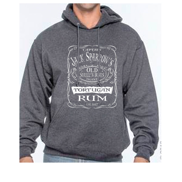 Captain Jacks Sparrows Tortugan Rum Unisex Hoodie