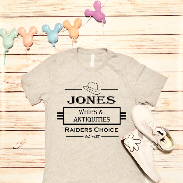 Jones Whip Company Unisex Tee