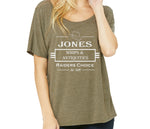 Jones Whip Company Women's Slouchy